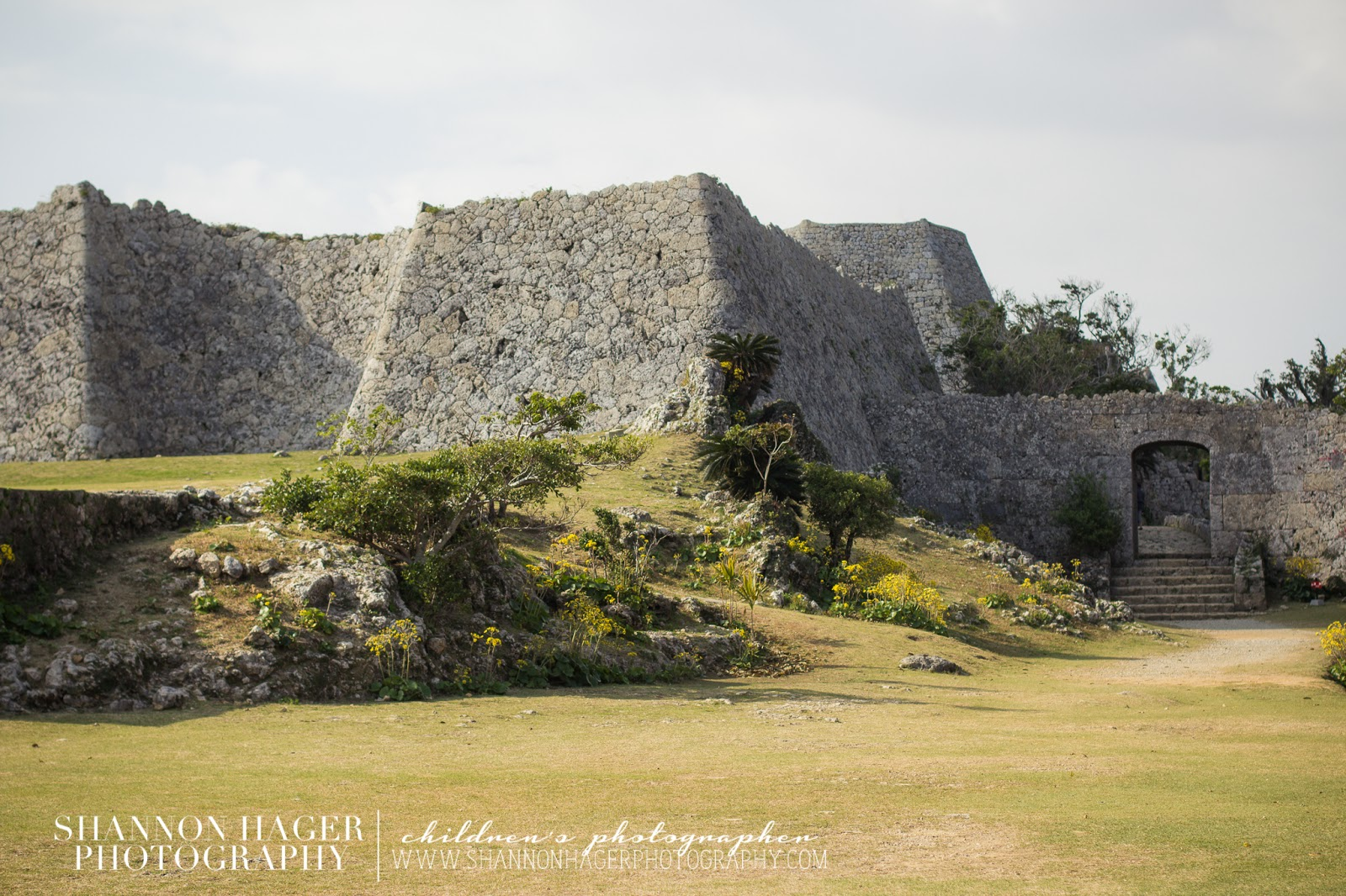 Nakagusuku Castle by Shannon Hager Photography
