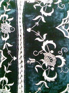 Chinese+velvet+handmade+embroidery+vintage+velvet