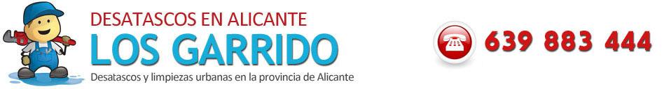 DESATASCOS URGENTES ALICANTE - ECONÓMICOS LAS 24 HORAS