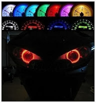 Kit Led Painel E Angel P/ Cg , Twister, Bis , Hornet - Motos - R$ 50,00