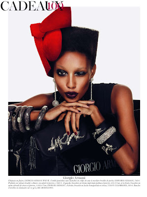 Jasmine Tookes wishes you Merry Christmas