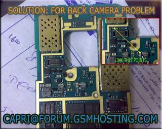 Nokia n73 back camera failed solution