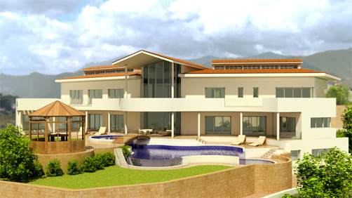 New home designs latest modern villa designs for Modern house villa design