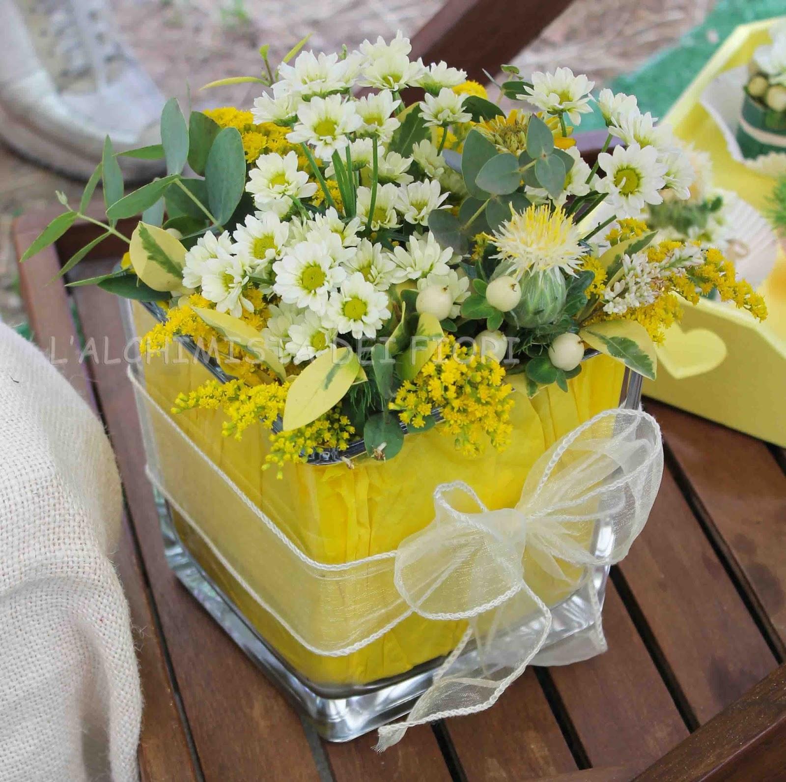 Tavolo Matrimonio Girasoli : L alchimista dei fiori wedding planner sunflower yellow