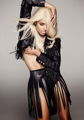 sexy model Kat Graham poses almost naked for GQ Turkey magazine