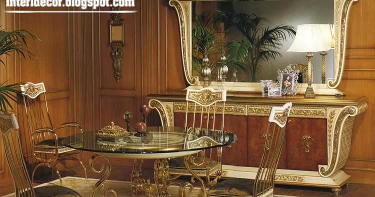 Luxury italian dining room furniture