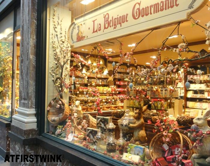 La Belgique Gourmande store in Les Galeries Royales Saint Hubert, Brussels