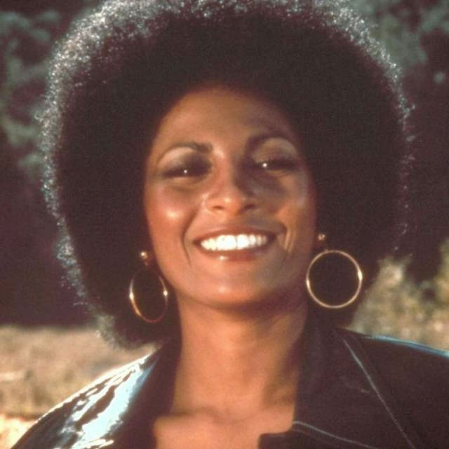 The famous Afro Pam Grier, who starred in Foxy Brown, was one of the most memorable looks of the 1970s.