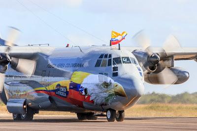 C-130 Hercules Fuerza Aerea Colombiana Cruzex