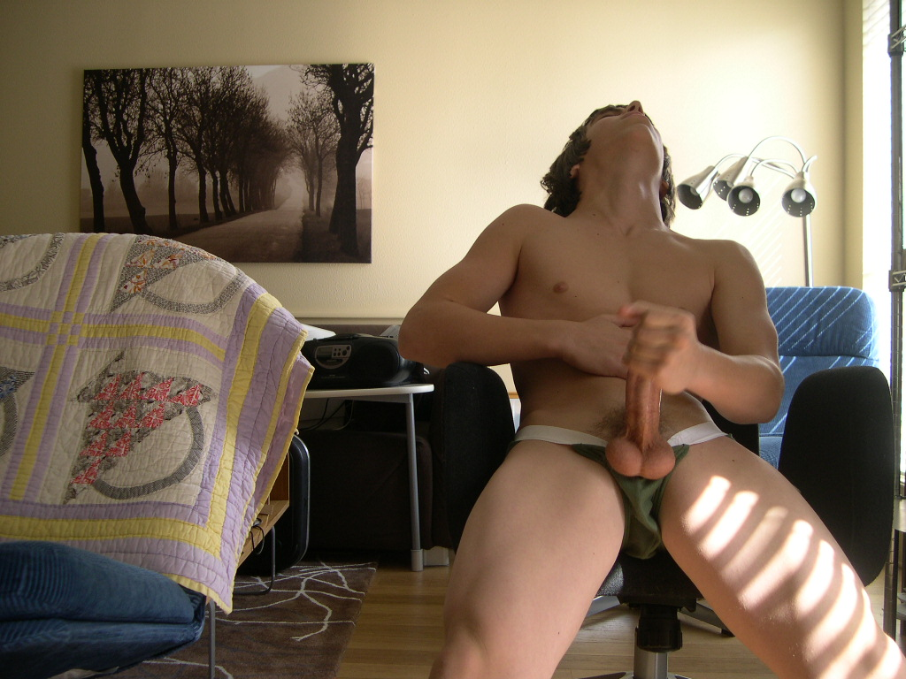 Father son glory hole video