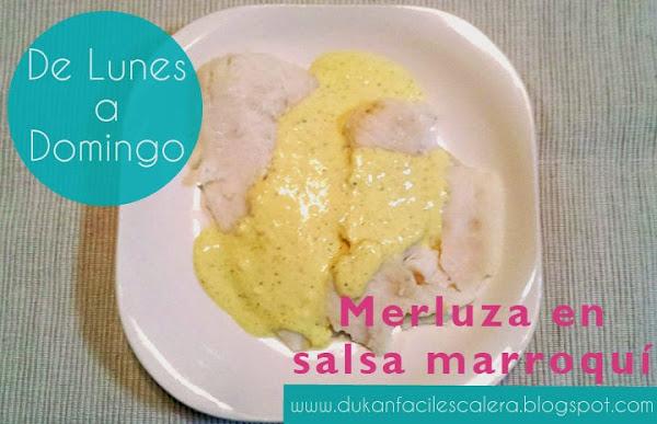receta para la nueva dieta suave de dukan ,apta todos los días ,desde el lunes al domingo,con pocas calorias,merluza,queso batido 0 % ,especias y mucho sabor.