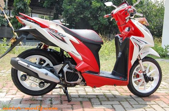 Contoh Modifikasi Honda Vario Terbaru 2016