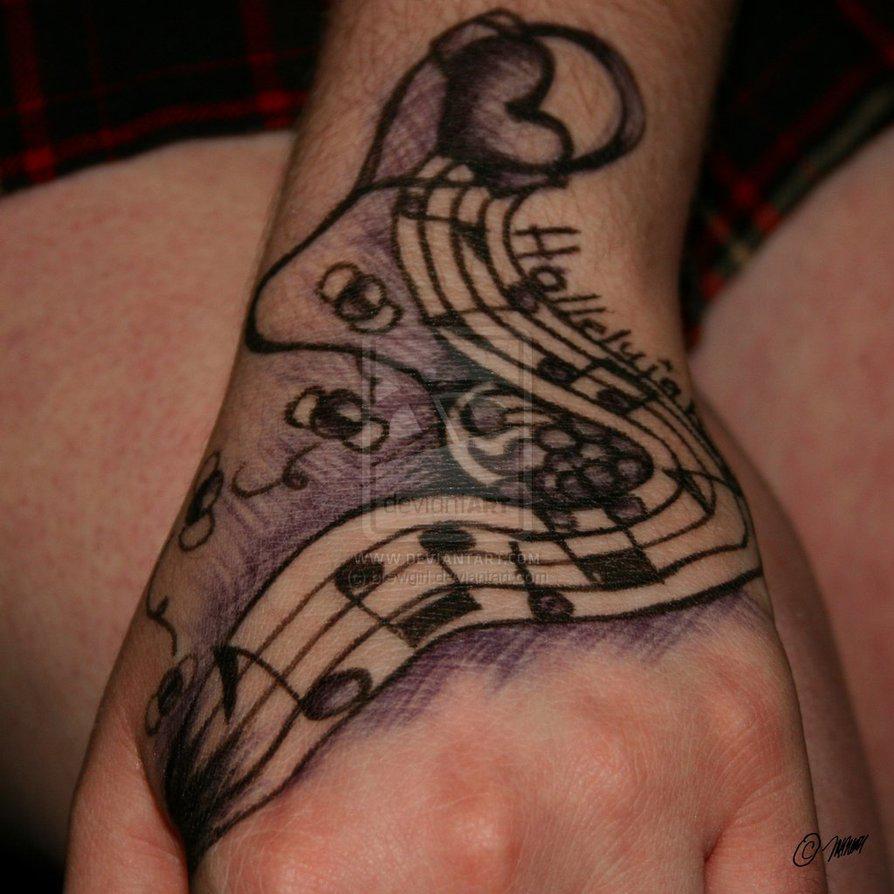 Tattoo Design Gallery 360 Music Tattoo Designs
