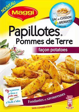 10 000 échantillons PAPILLOTES Pommes de Terre façon Potatoes