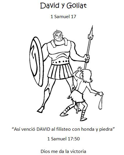Imagenes De David Y Goliat Para Colorear Imagui