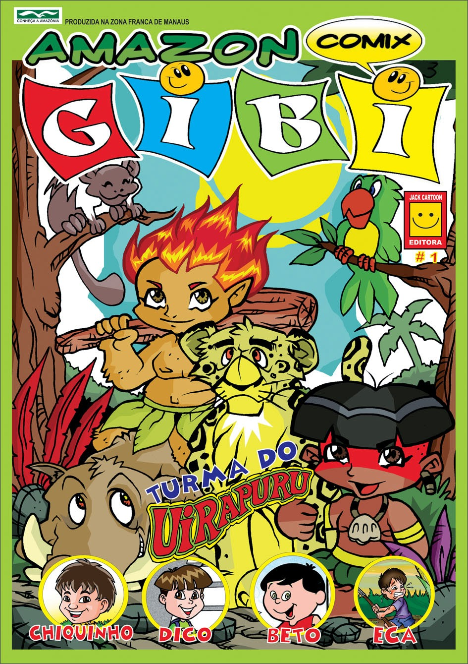 REVISTA: AMAZON COMIX GIBI