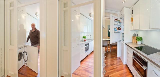 Miele Fachhändler München - Haushaltsgeräte austauschen in München, Miele Haushaltsgeräte, Waschmaschine in Küche einbauen