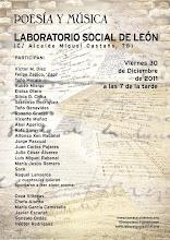 POESÍA & MÚSICA EN EL LABORATORIO SOCIAL DE LEÓN