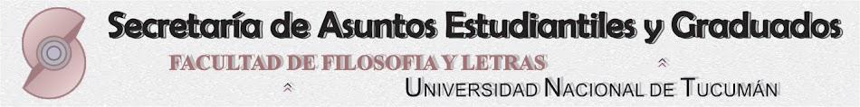 Ingresantes de Filosofía y Letras - UNT