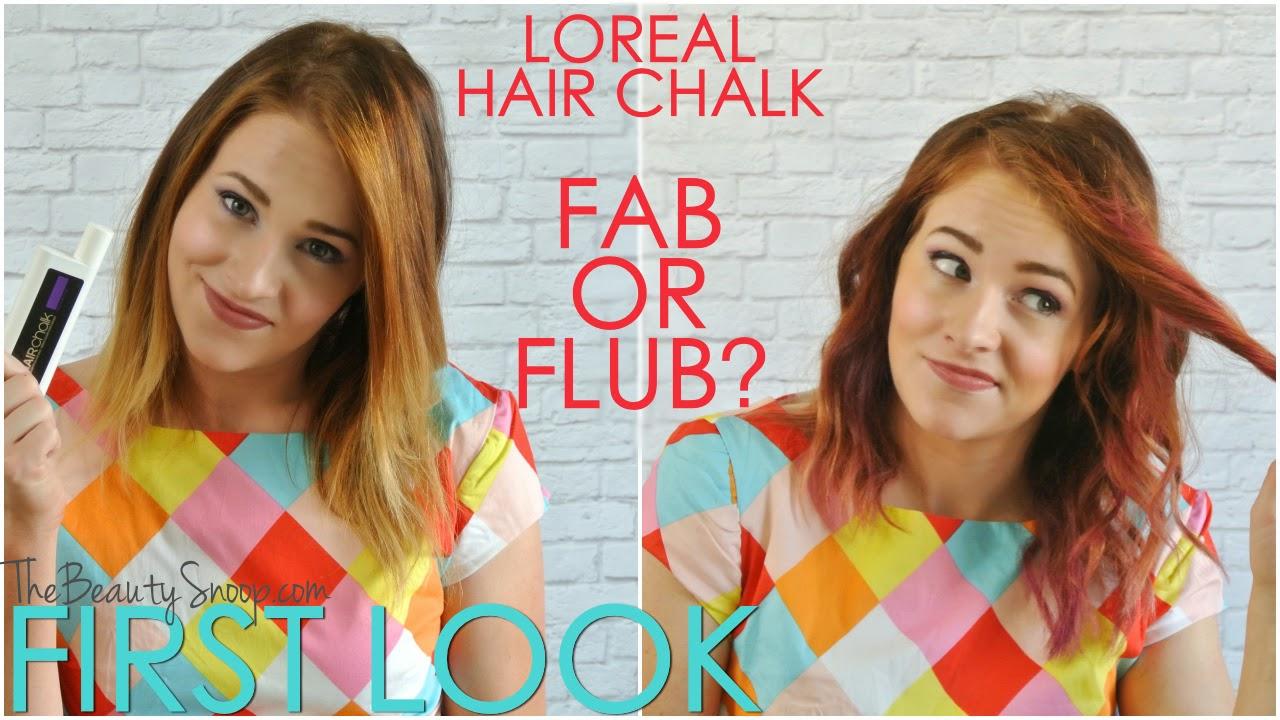 Loreal Hair Chalk review, fab or flub?, Liquid Hair Chalk, Temporary Hair Color, How to apply hair chalk