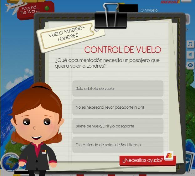 Aplicación-Juego Iberia Joven