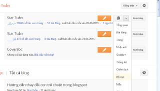 Hướng dẫn thêm hiệu ứng trỏ chuột cho Blogspot - Blogger