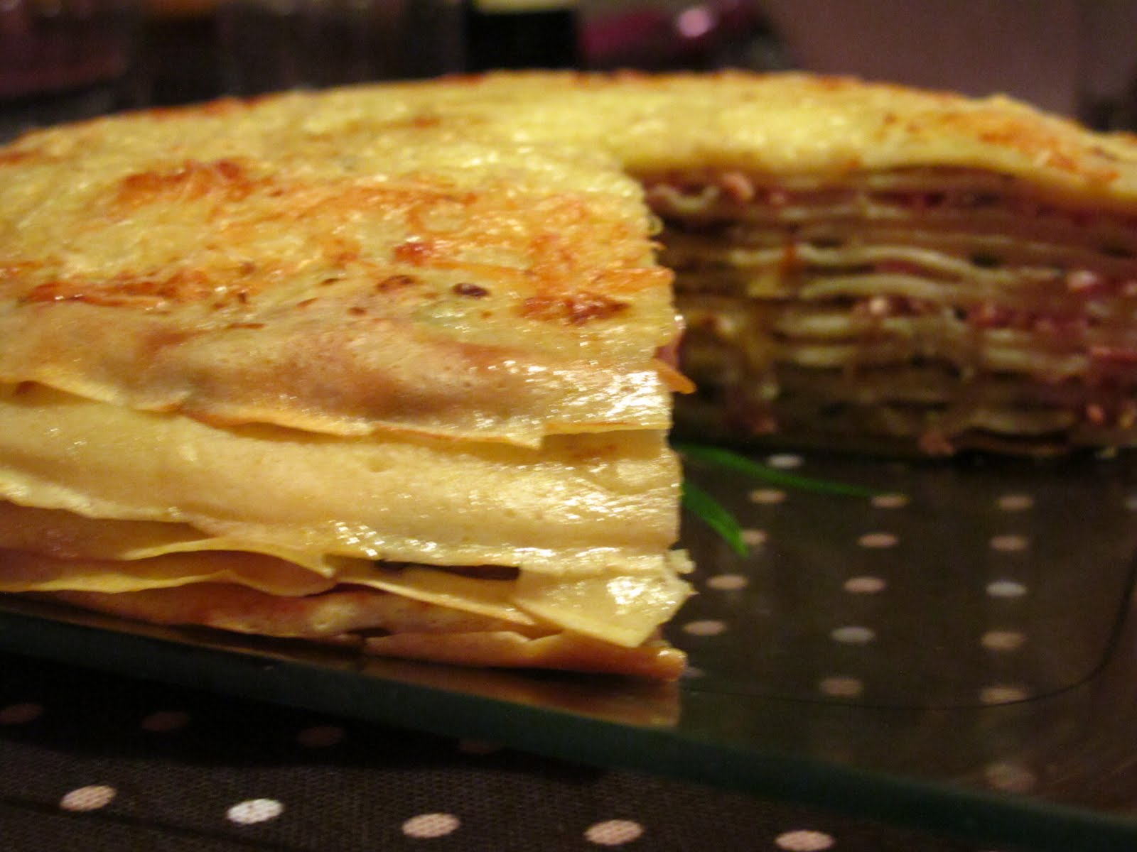 gateau de cr 234 pes jambon chignons persil blogs de cuisine