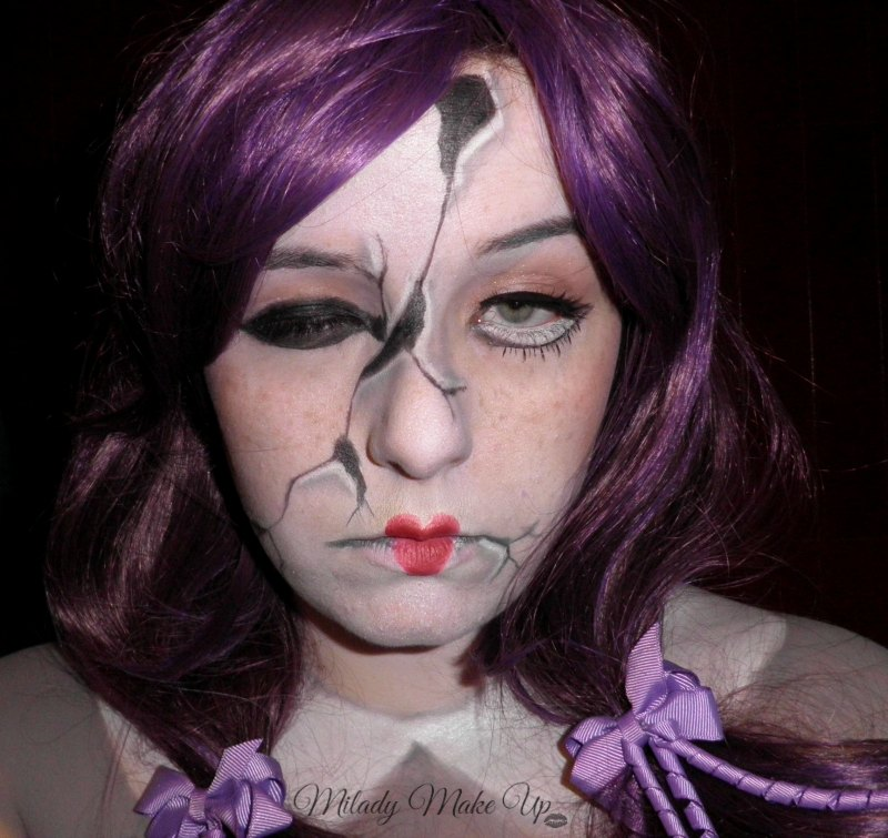creepy doll makeup halloween