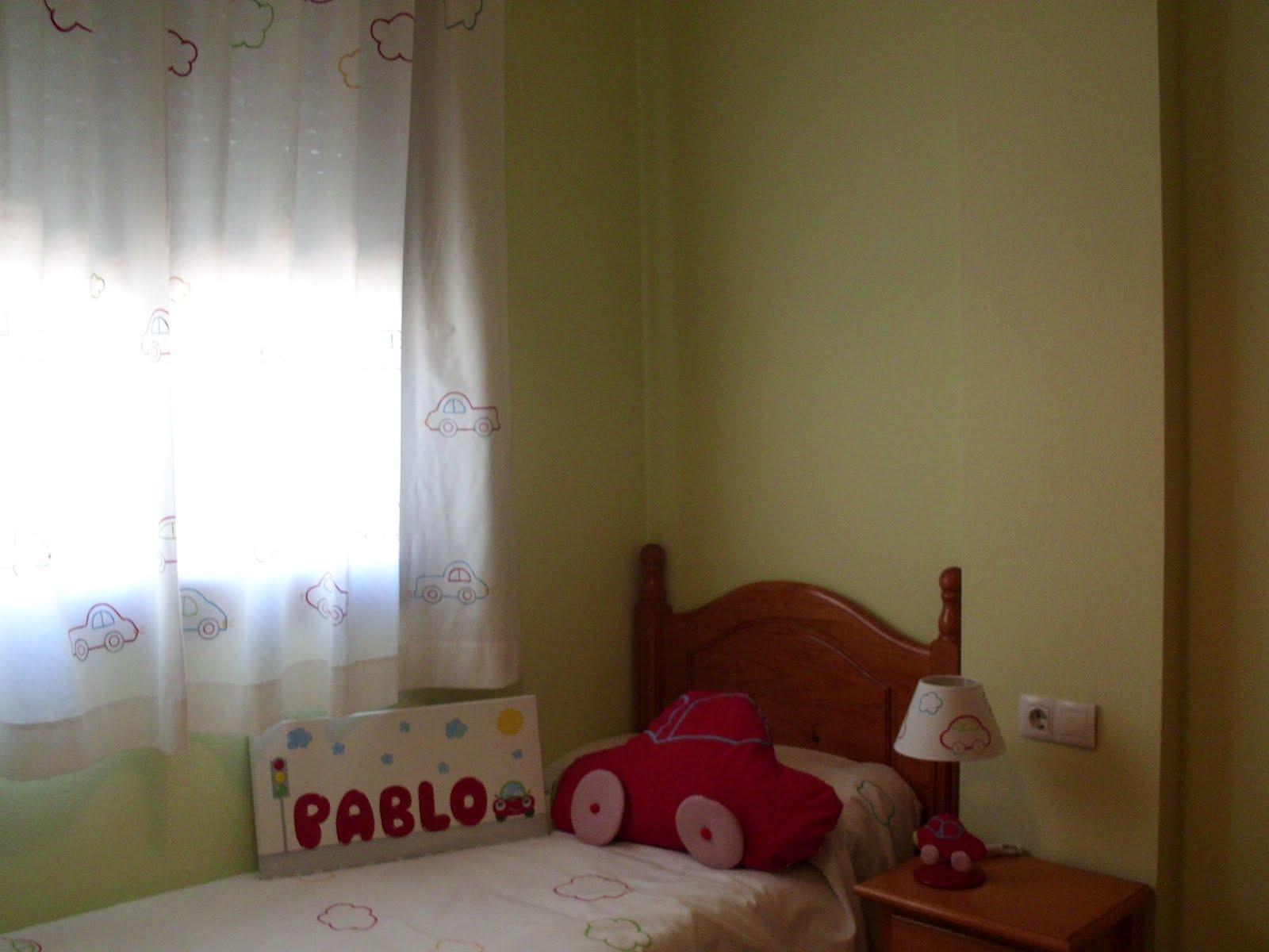 Decoraci n infantil pekerines habitaci n de pablo - Habitacion infantil decoracion ...