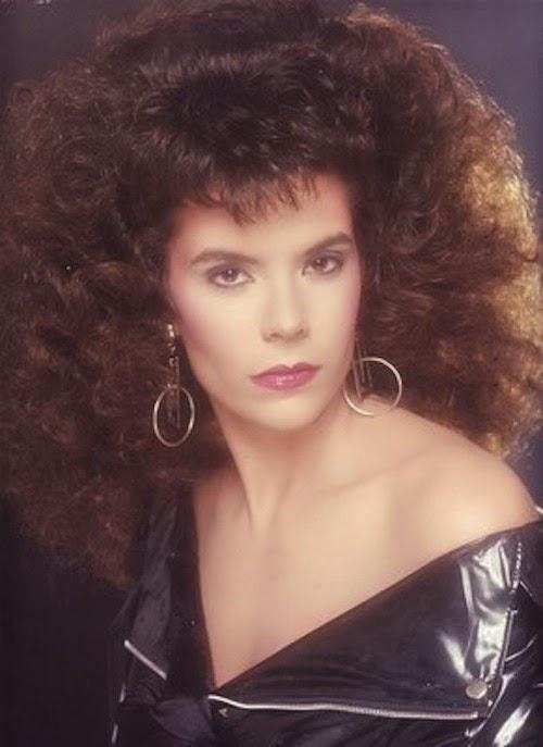 Fryzury lat '80 - lata '80 XX wieku
