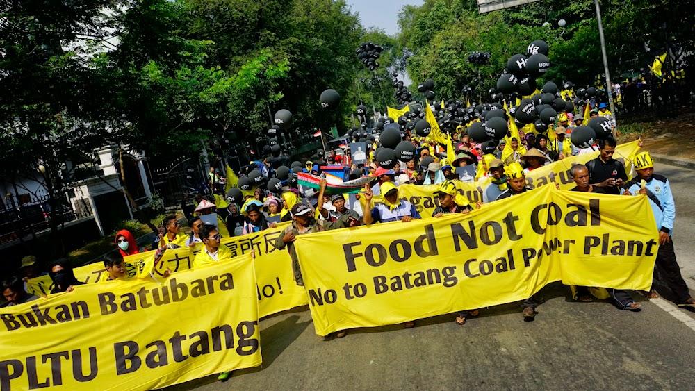 Warga Batang ke Jakarta Suarakan Penolakan Pembangunan PLTU