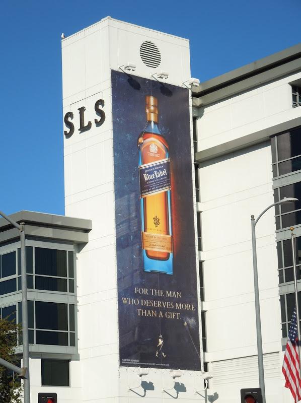 Johnnie Walker Blue Label Whisky billboard SLS Beverly Hills Hotel