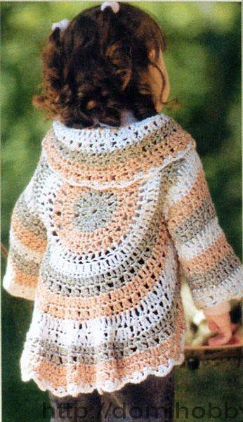 Free Crochet Pattern Circle Sweater :