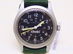 HAMILTON KHAKI MILITARY BLACK DIAL - MANUAL WINDING