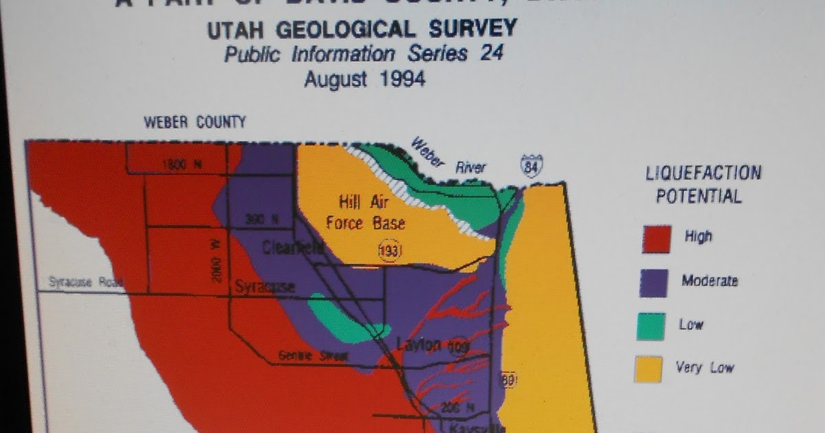 The Mystery Of Utah History Liquefaction Danger A Part