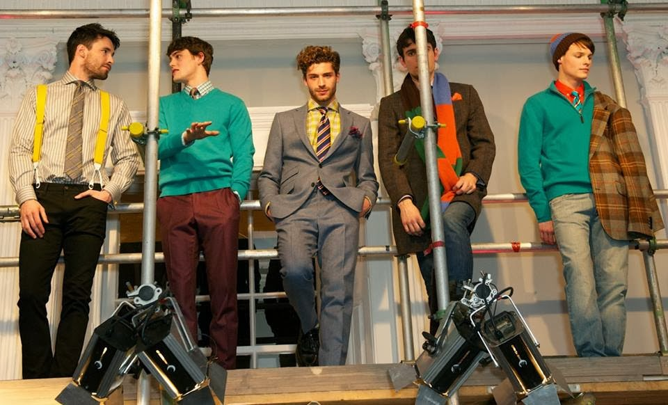 Thomas Pink, LVMH, London Collections, 2014, Fred Willems, menswear, british style, style, Bompas & Parr,