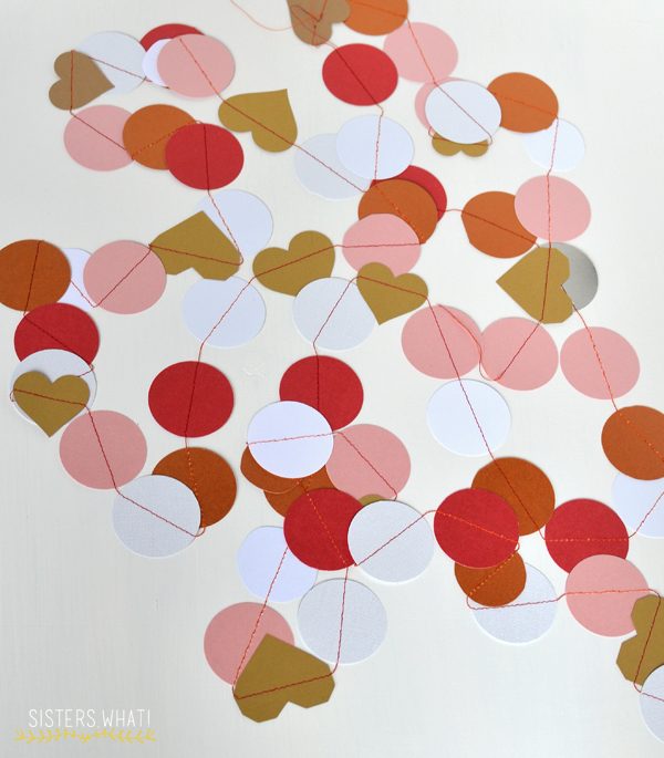 circle paper garland