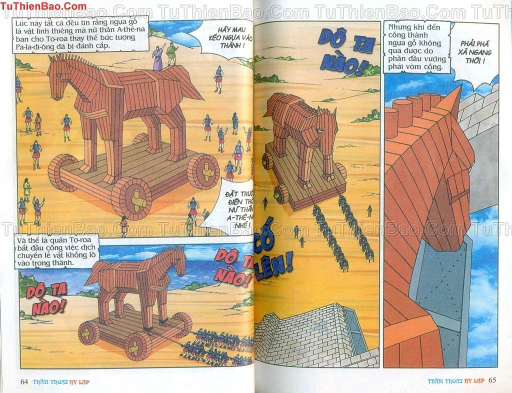 Thần thoại Hy Lạp Chapter 14 - Trang 31
