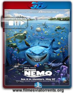 Procurando Nemo Torrent – BluRay Rip 1080p 3D HSBS Dual Áudio 5.1 (2003)