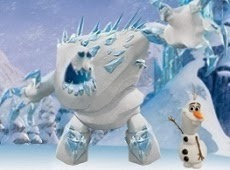 Frozen Throw Olaf