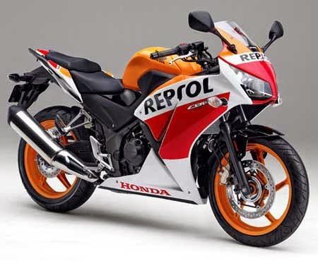 All New Honda CBR250R Repsol