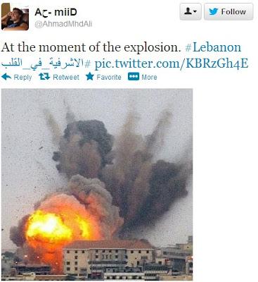 Ledakan Bom di Beirut