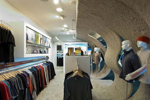 Icebreaker Touch Lab the Organic Store Design - Interior