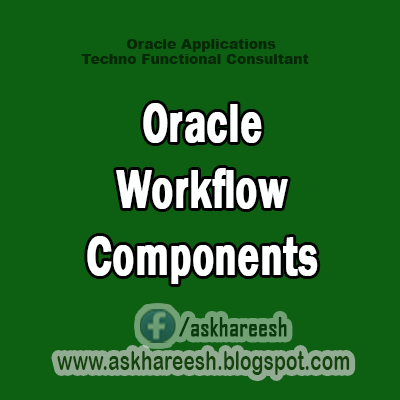 Oracle Workflow Components,AskHareesh Blog for OracleApps
