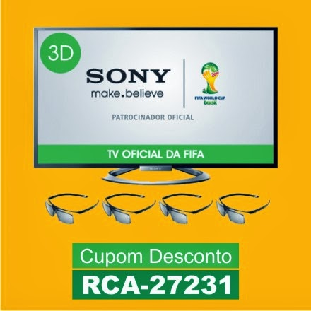 Smart TV 47 3D Slim LED Sony Bravia KDL-47W805A