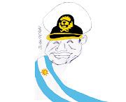 Presidente de la república Argentina. Nacionalizador compulsivo de . peron