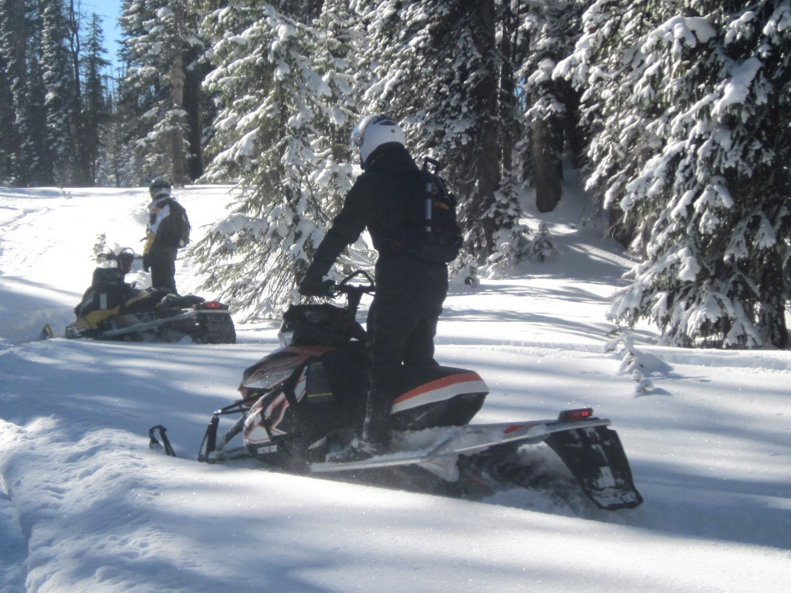 ... SNOWMOBILE ADVENTURES: Day 3 of Colorado Snowmobile Trip / December