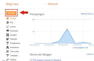 Bagaimana Membuat Blog Di Blogspot?