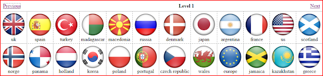 Flag Quiz Level 1