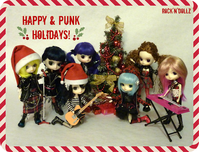 Happy & Punk Holidays!
